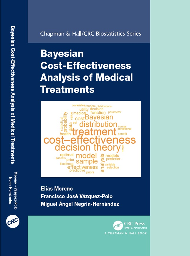 "Chapman and Hall/CRC publica el texto ""Bayesian cost-effectiveness analysis of medical treatments"""